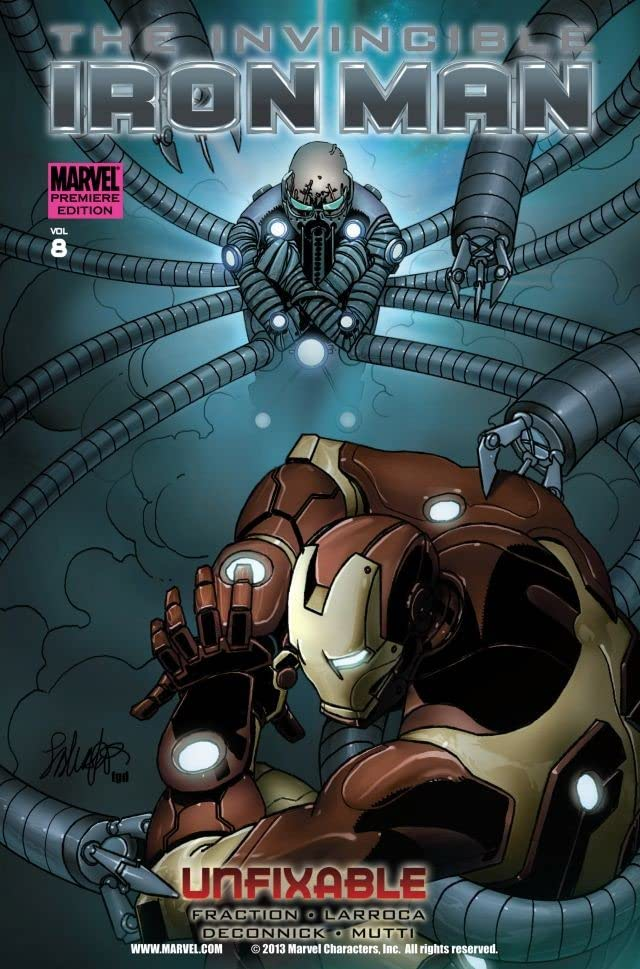 Invincible Iron Man Vol. 8: Unfixable