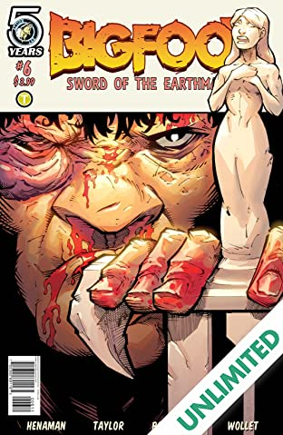 Bigfoot: Sword of the Earthman #6