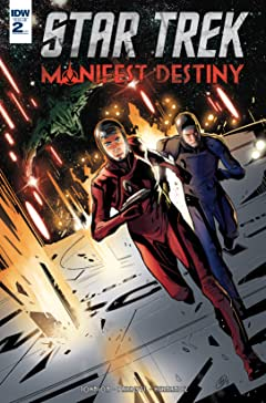 Star Trek: Manifest Destiny No.2 (sur 4)