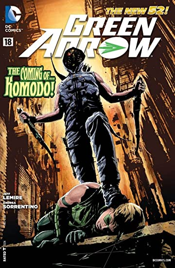 Green Arrow (2011-) #18