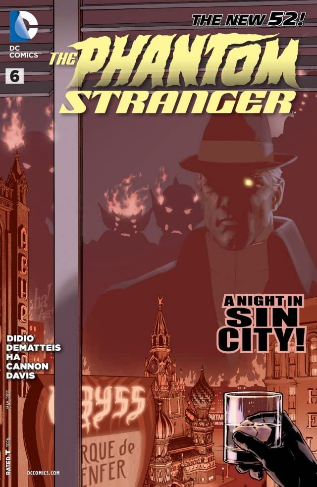 The Phantom Stranger (2012-2014) #6