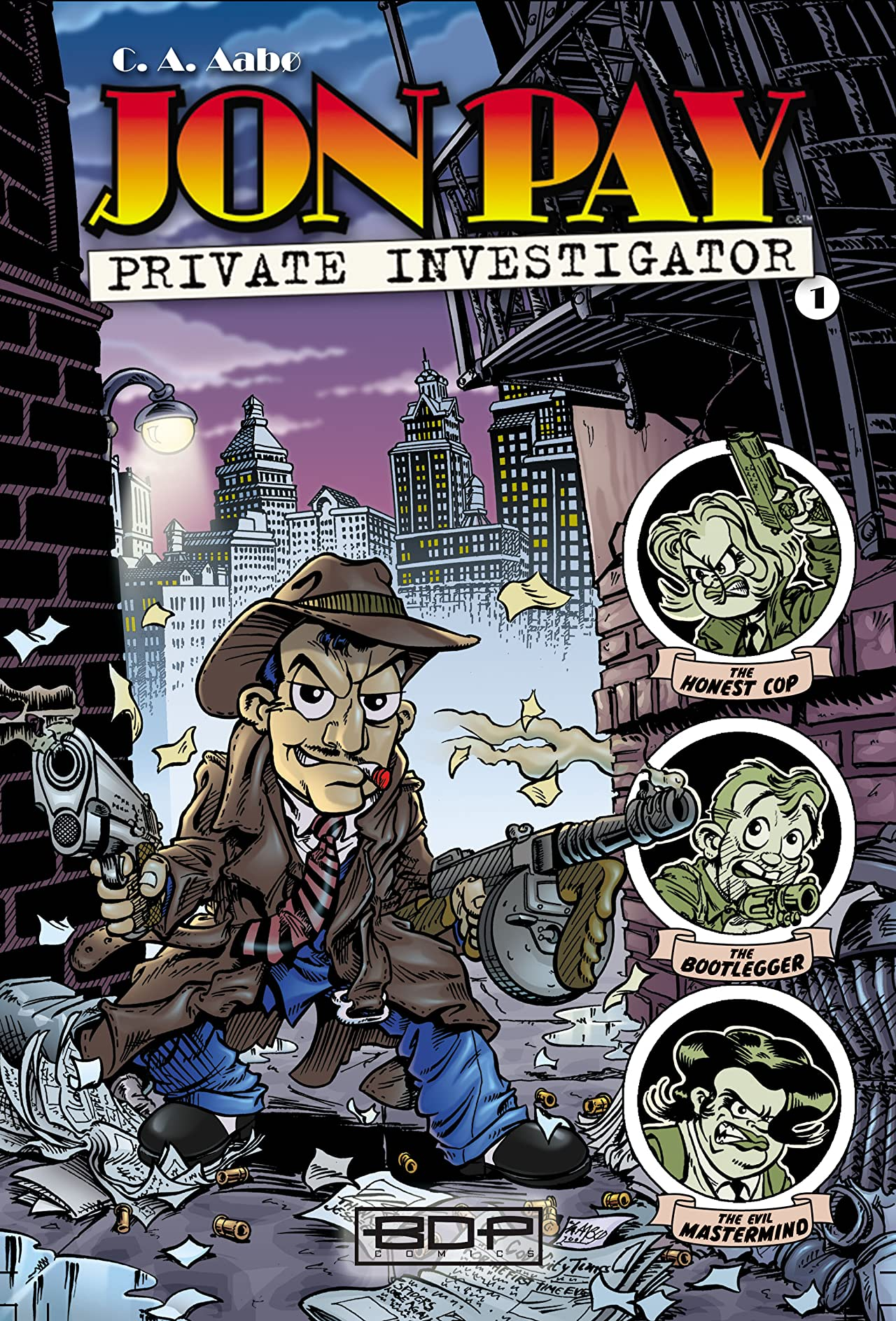 Jon Pay Private Investigator #1
