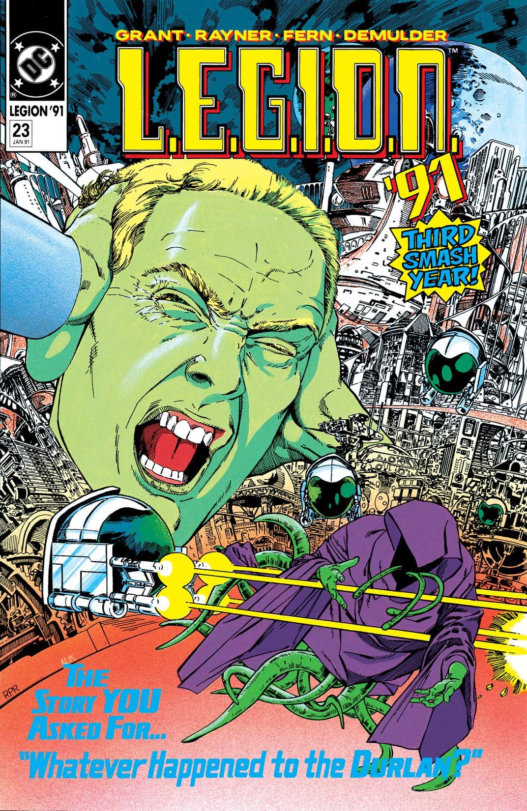 L.E.G.I.O.N. (1989-1994) #23