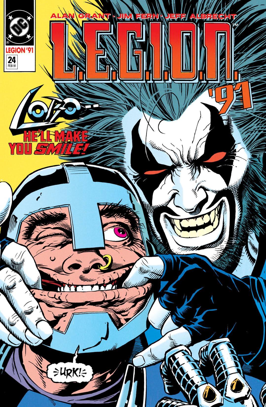 L.E.G.I.O.N. (1989-1994) #24