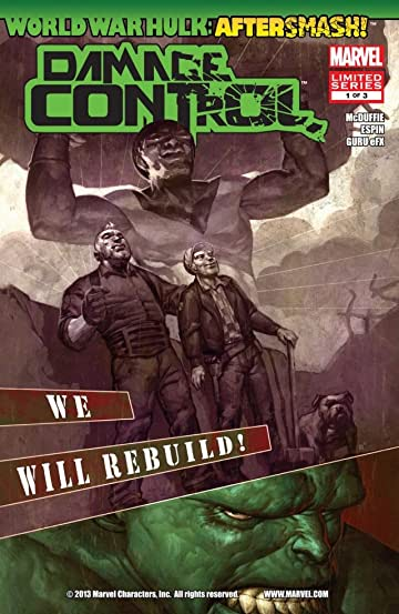 World War Hulk Aftersmash: Damage Control #1 (of 3)