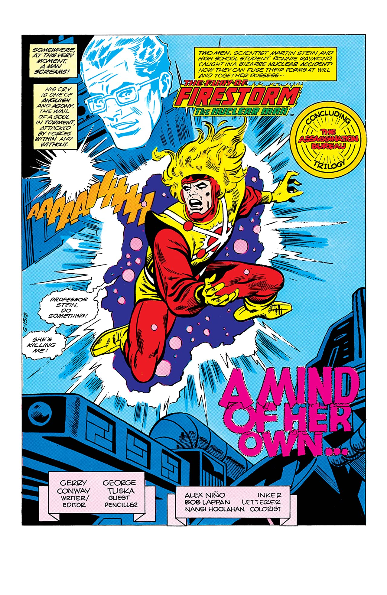 The Fury of Firestorm (1982-1990) #31