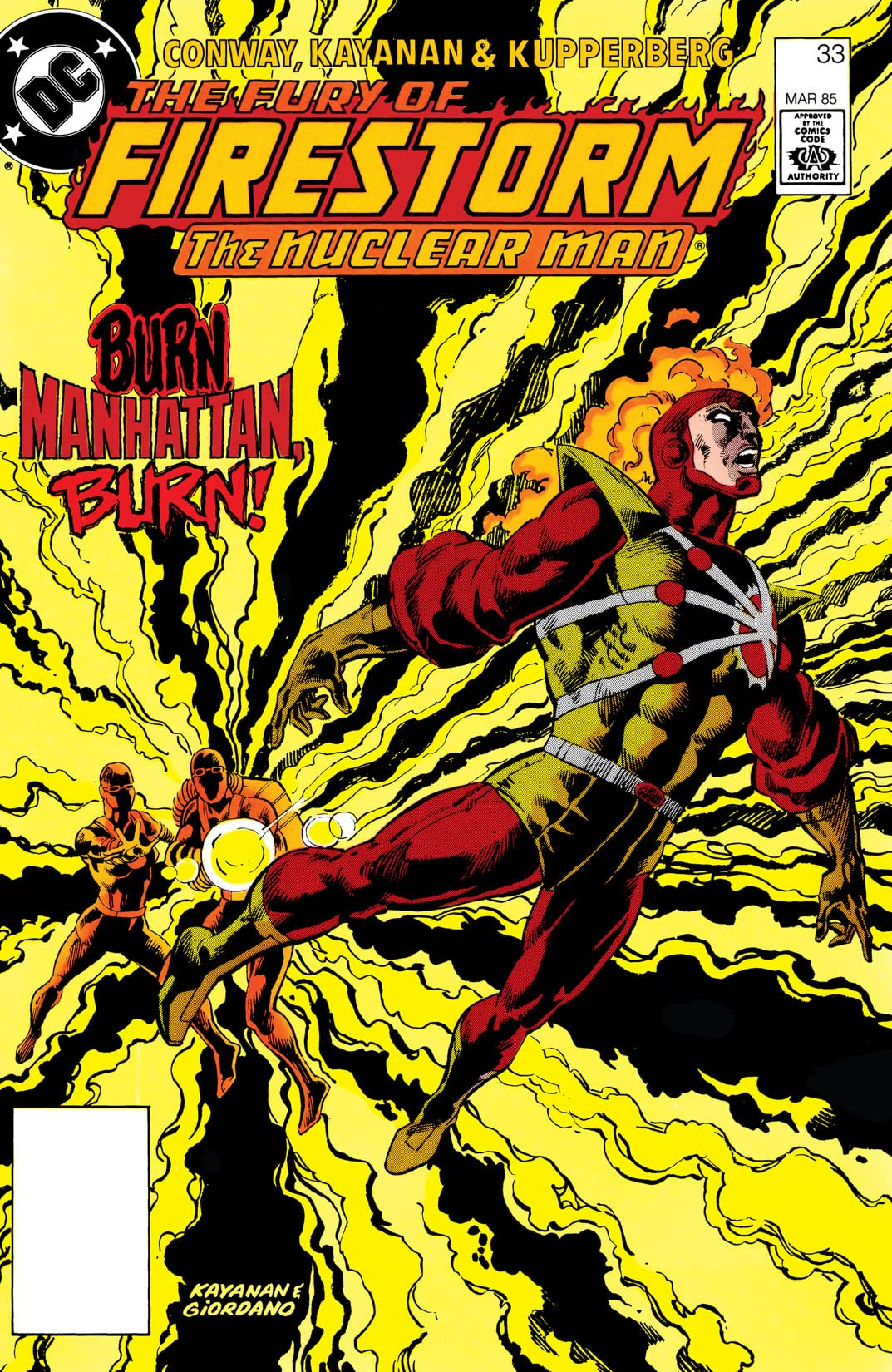 The Fury of Firestorm (1982-1990) #33