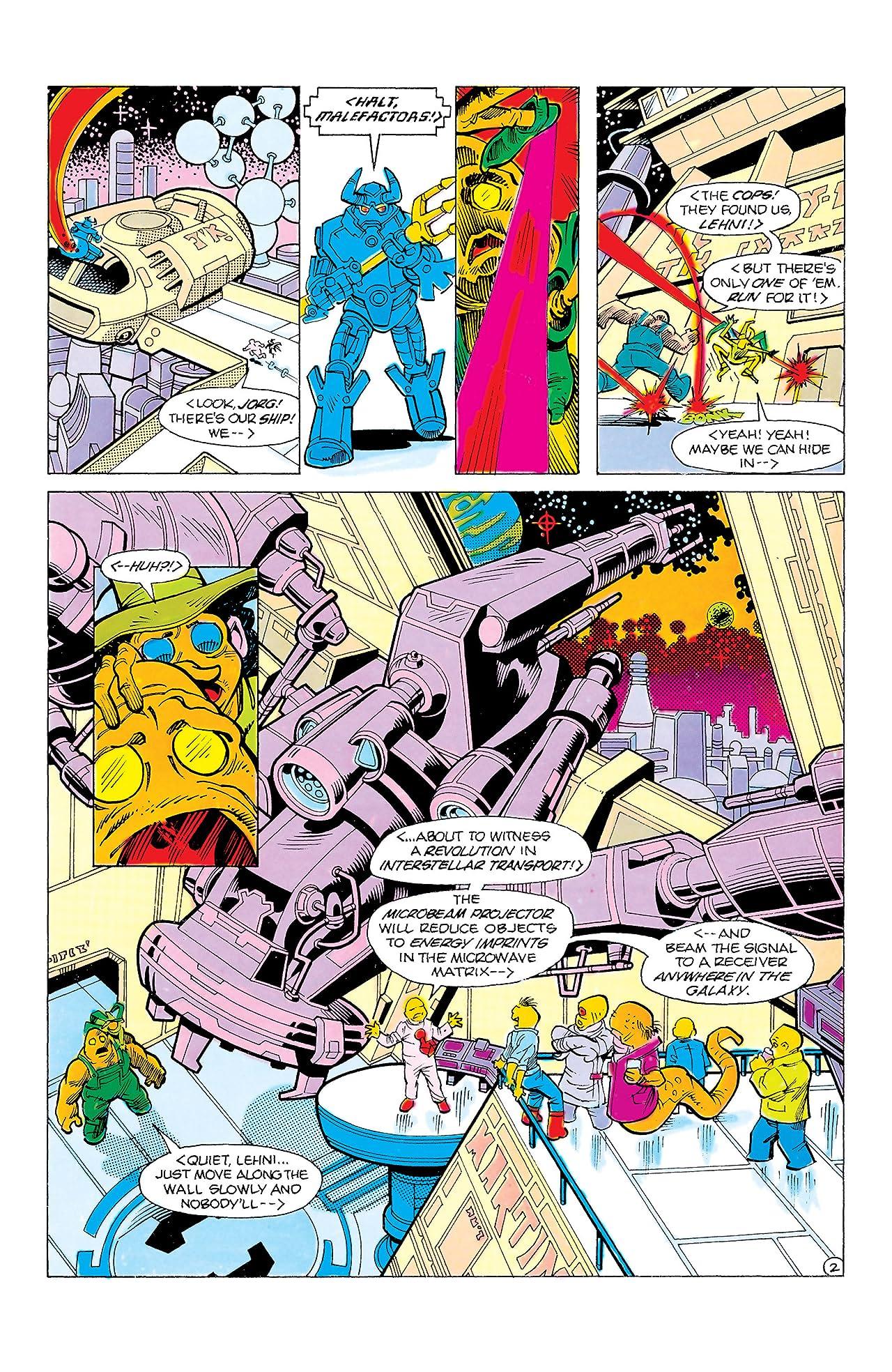 Blue Devil (1984-1986) #6