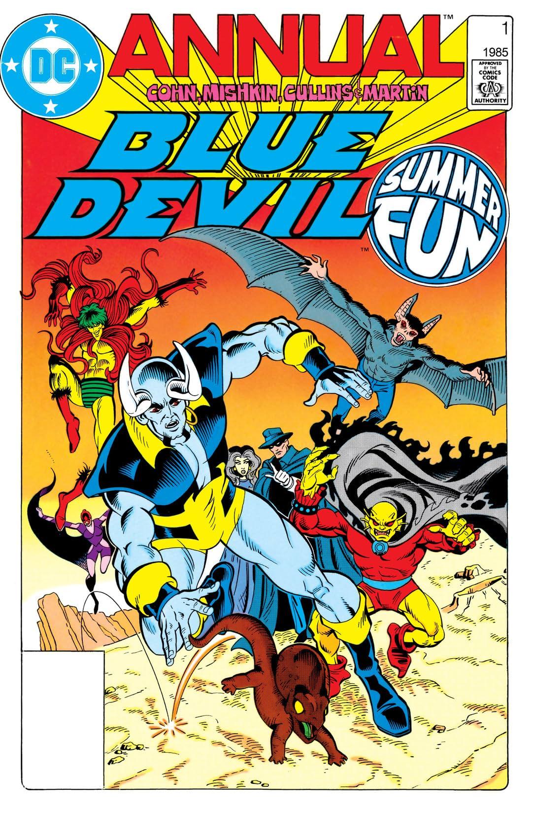 Blue Devil (1984-1986): Annual #1