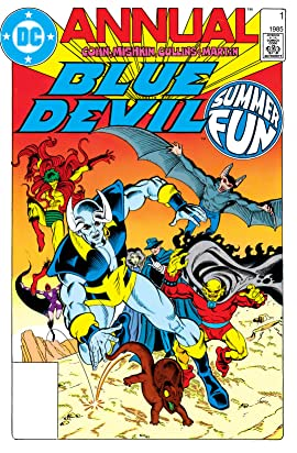 Blue Devil (1984-1986): Annual #1