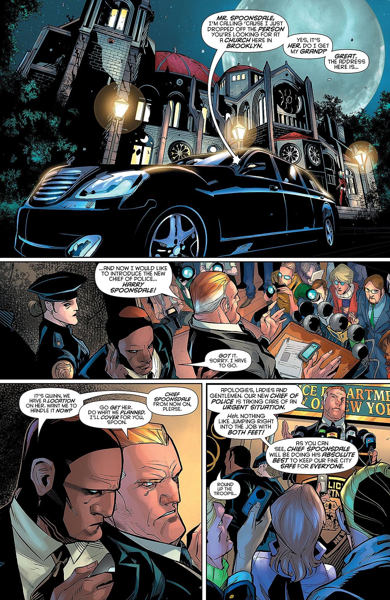 Harley Quinn (2013-2016) #28