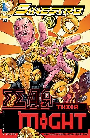 Sinestro (2014-) #23