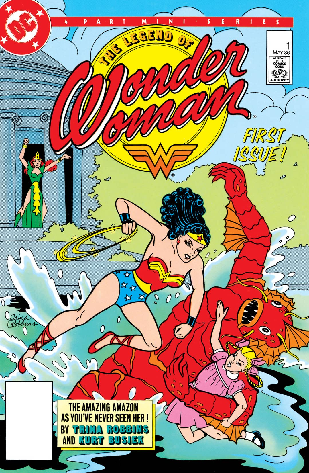 The Legend of Wonder Woman (1986) #1