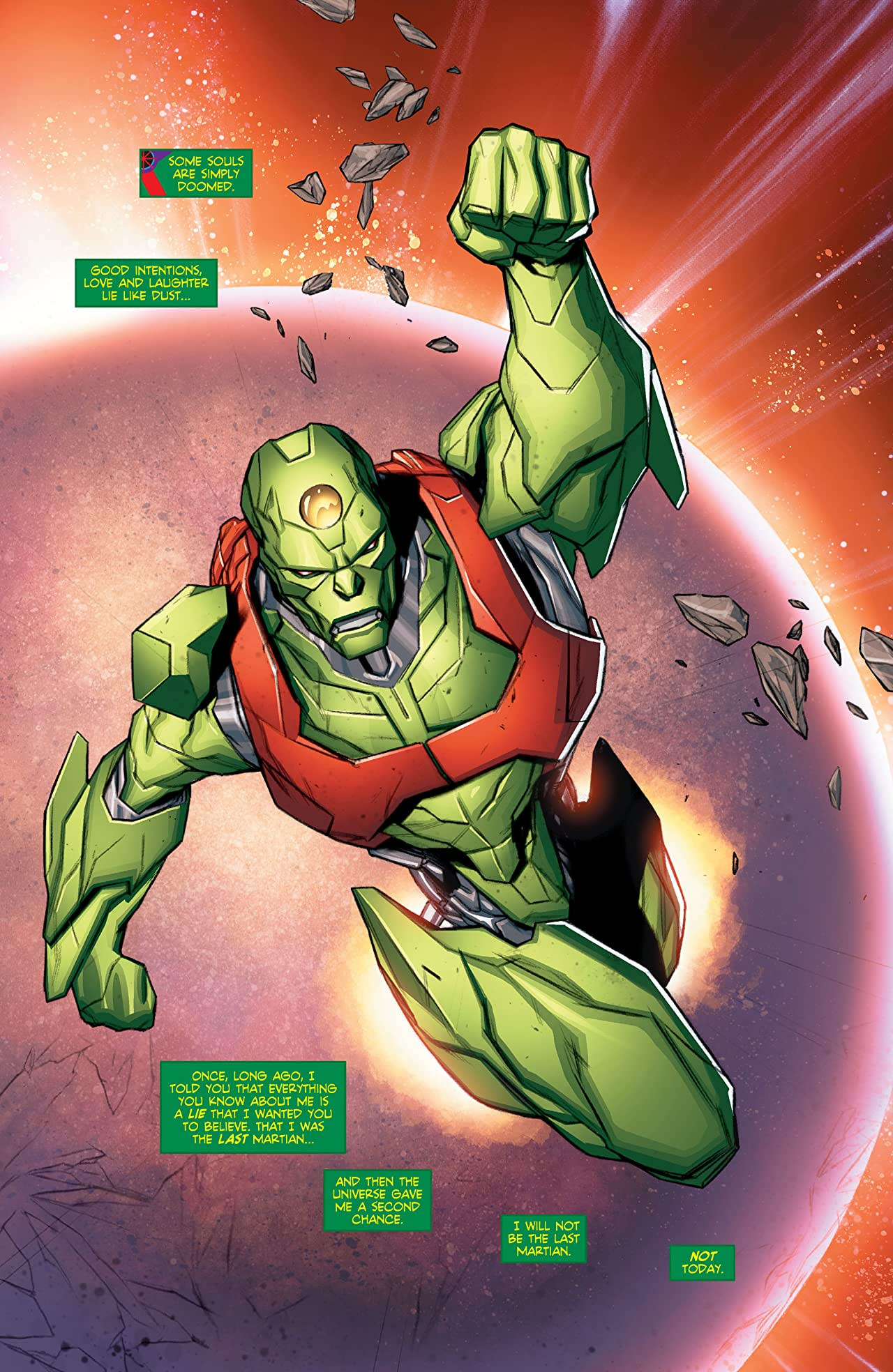 Martian Manhunter (2015-2016) #12