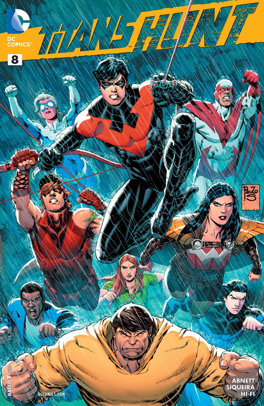 Titans Hunt (2015-2016) #8