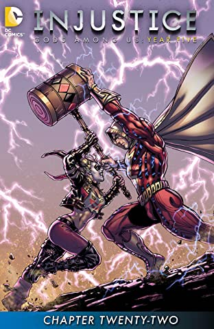 Injustice: Gods Among Us: Year Five (2015-) #22