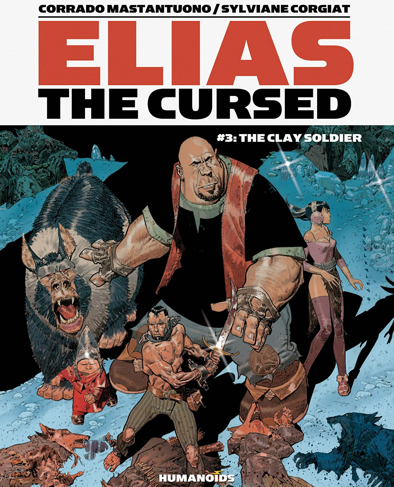 Elias the Cursed #3: The Clay Soldier