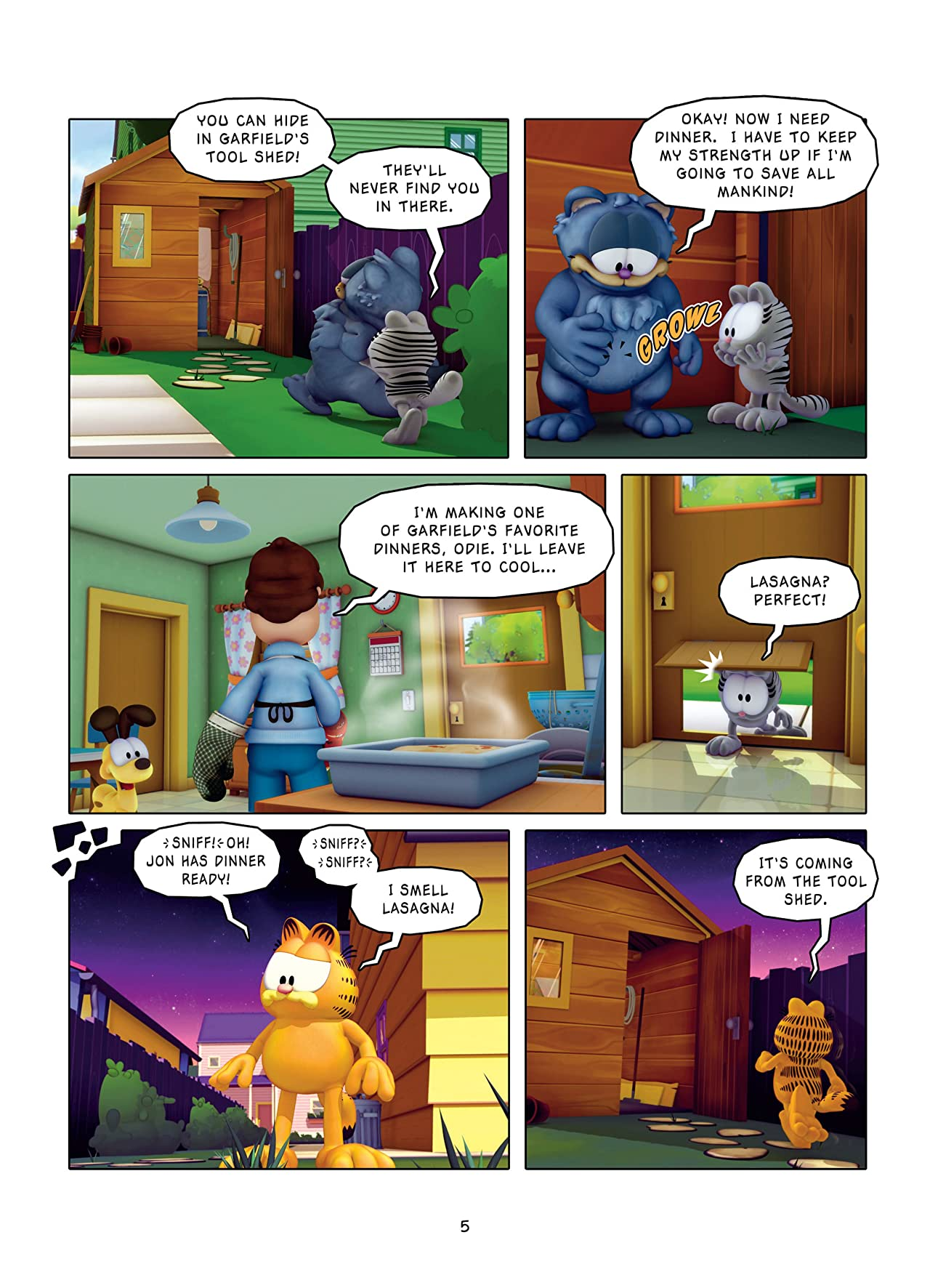 Garfield and Company Vol. 8: Secret Agent X