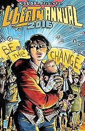 CBLDF Presents: Liberty Annual 2016