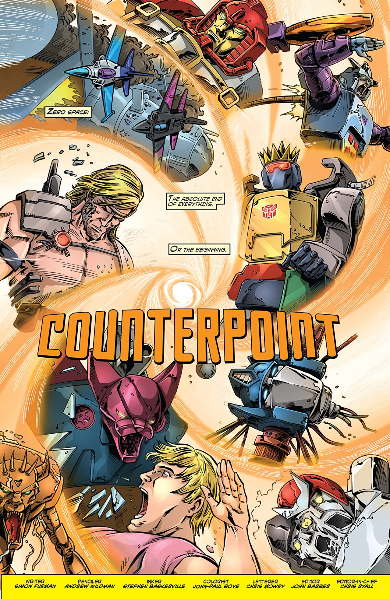 Transformers: Regeneration One Vol. 1