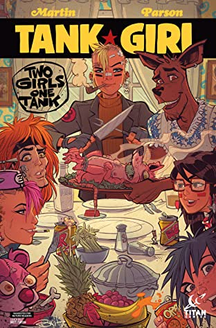 Tank Girl: Two Girls One Tank No.3