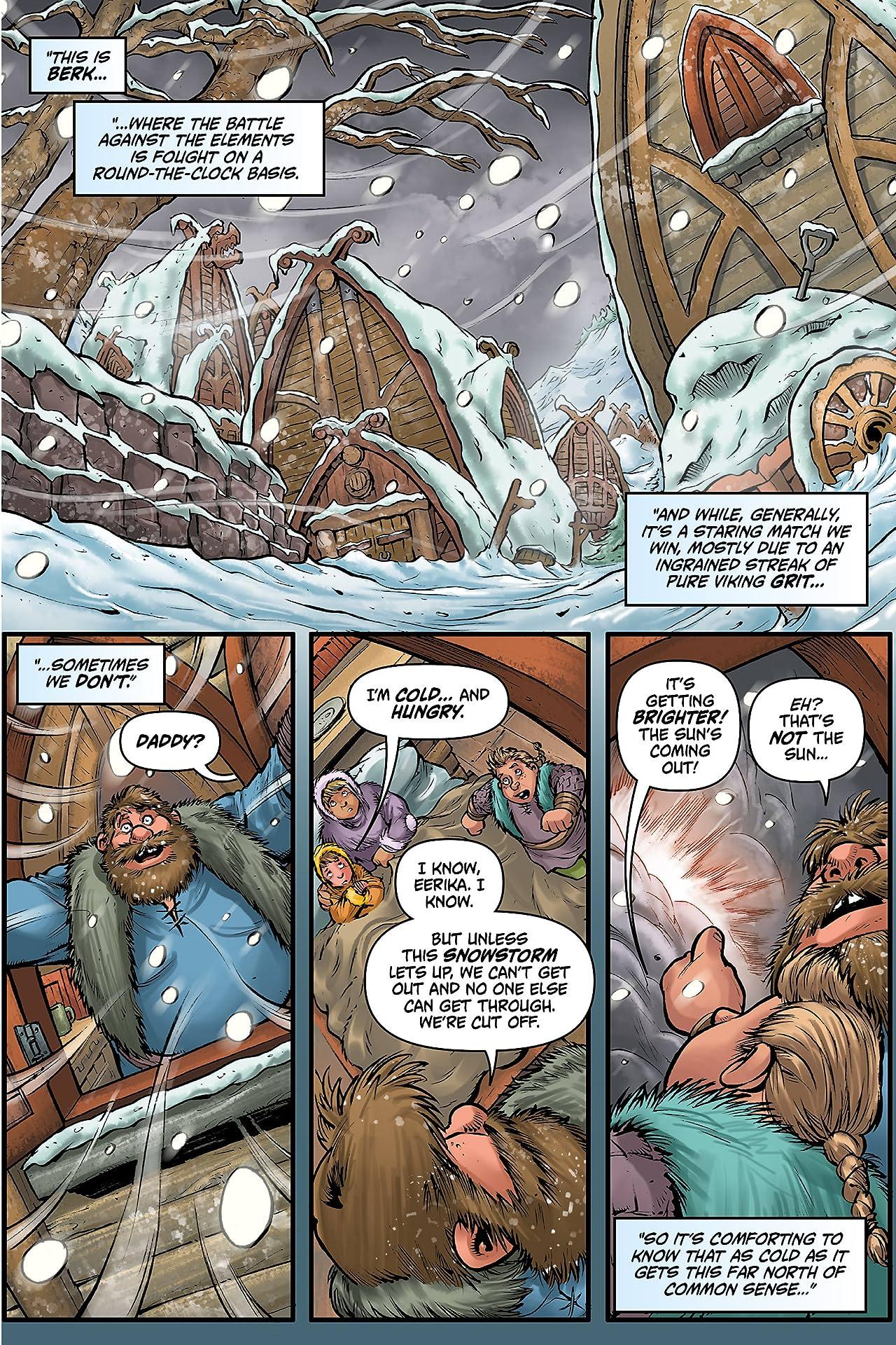 Dragons: Defenders of Berk Vol. 2: Snowmaggedon