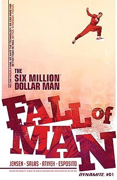 The Six Million Dollar Man: Fall of Man No.1: Digital Exclusive Edition