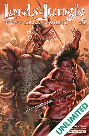 Lords Of The Jungle #5: Digital Exclusive Edition