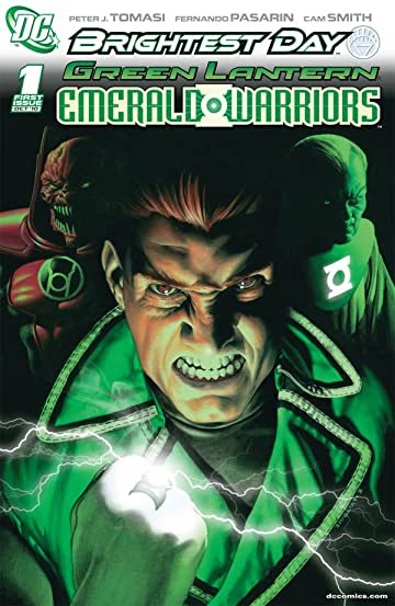 Green Lantern: Emerald Warriors #1: 10-Page Preview
