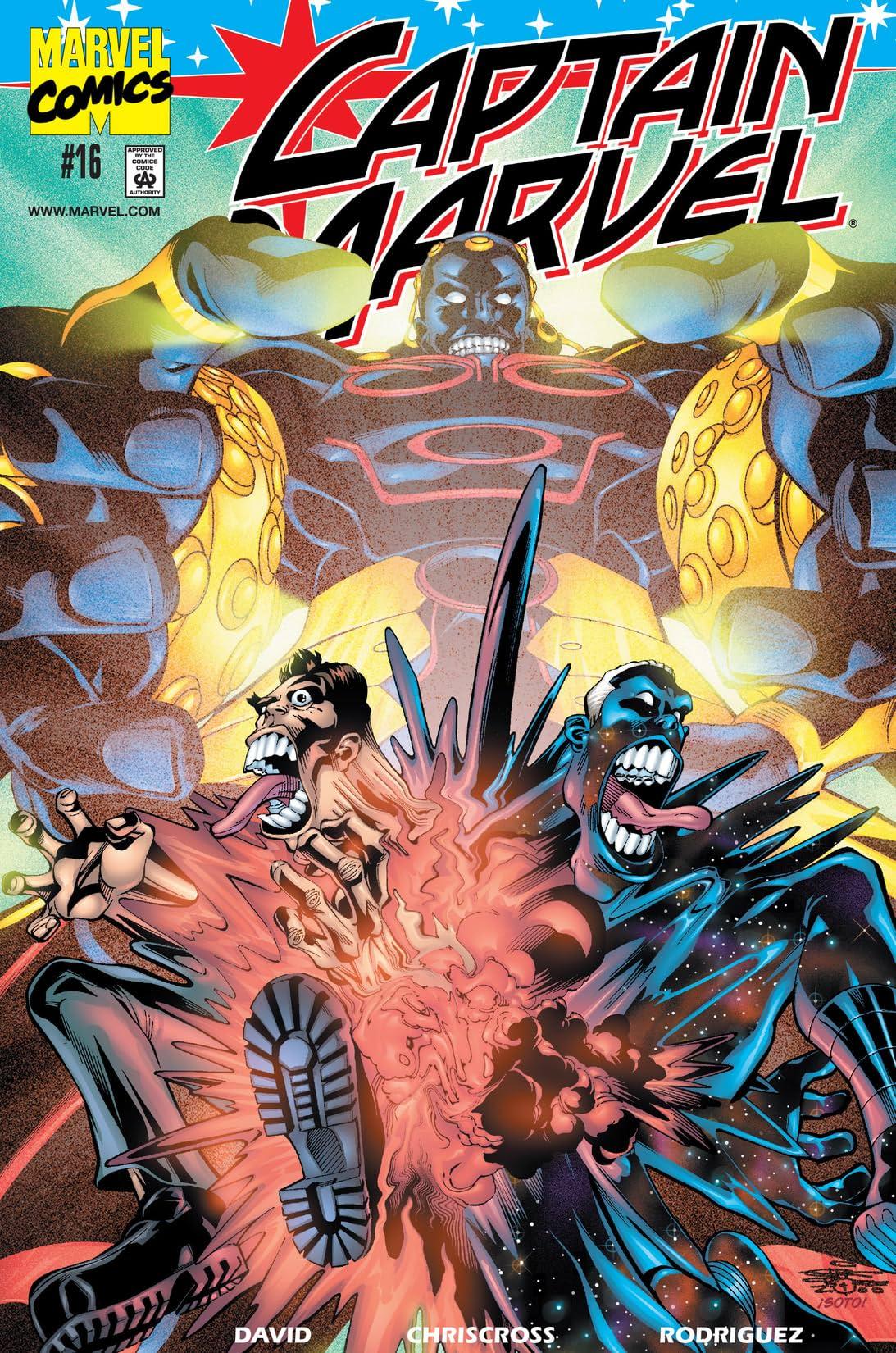 Captain Marvel (2000-2002) #16
