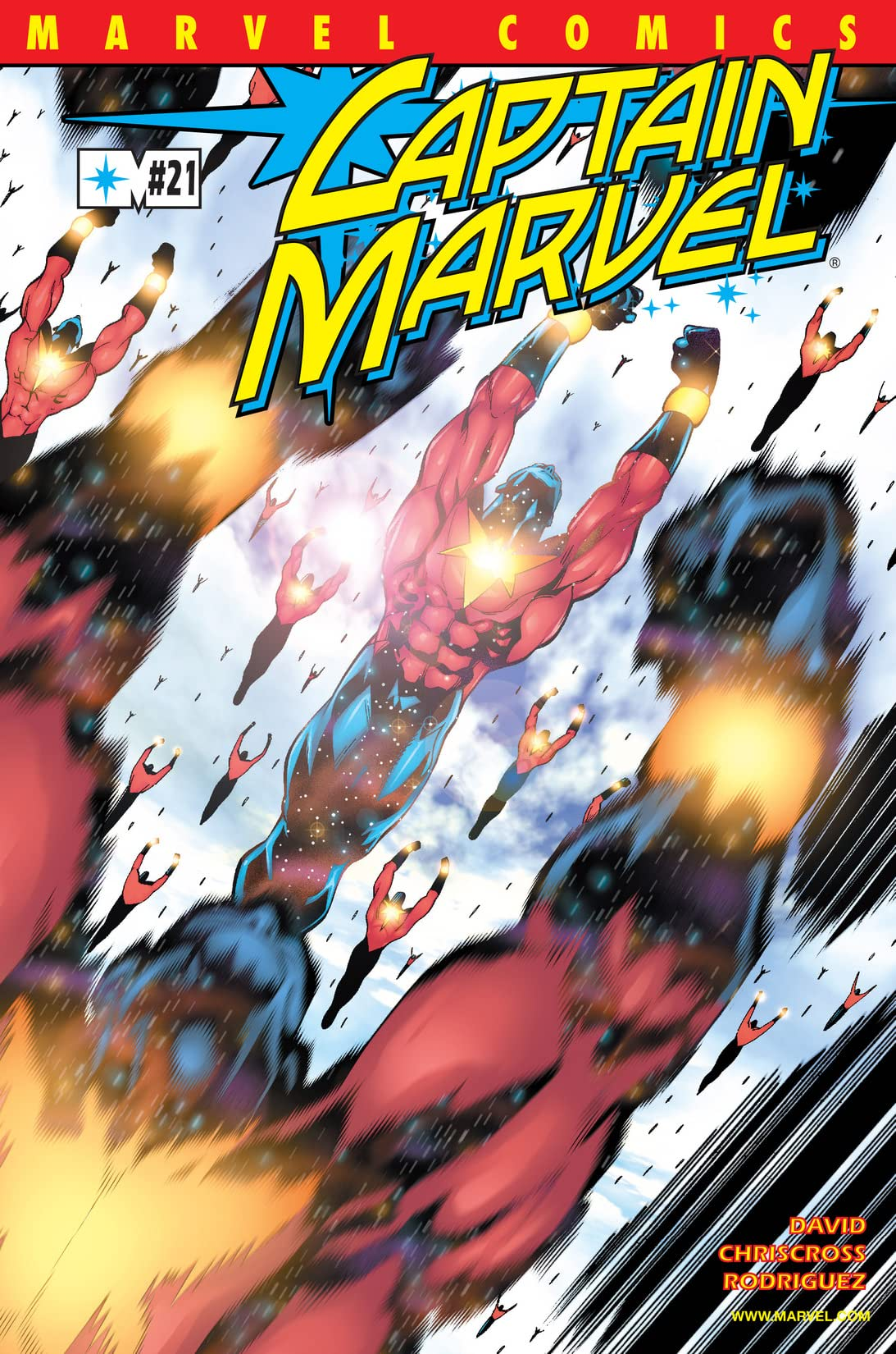 Captain Marvel (2000-2002) #21