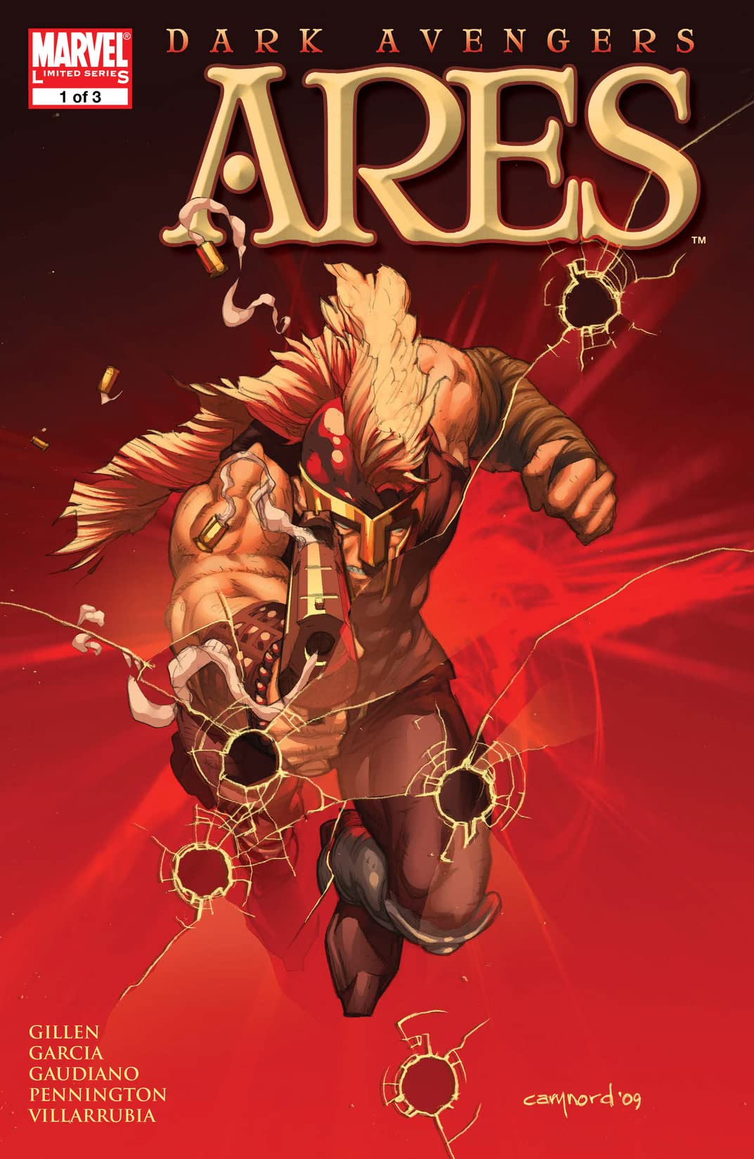 Dark Avengers: Ares (2009) #1 (of 3)