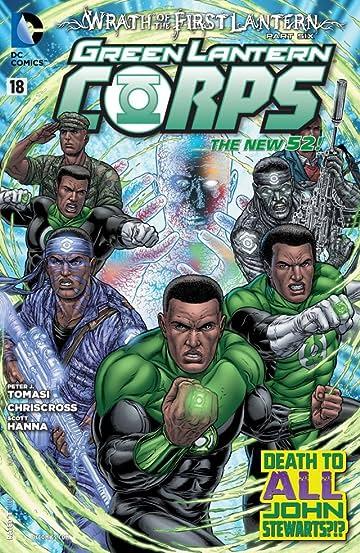 Green Lantern Corps (2011-2015) #18