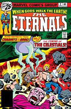 Eternals (1976-1978) #2