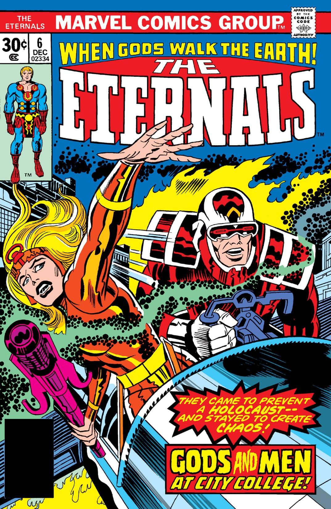 Eternals (1976-1978) #6