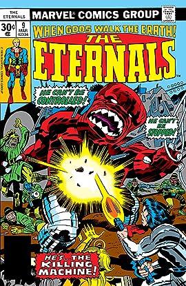 Eternals (1976-1978) #9
