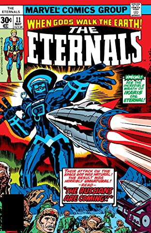 Eternals (1976-1978) #11