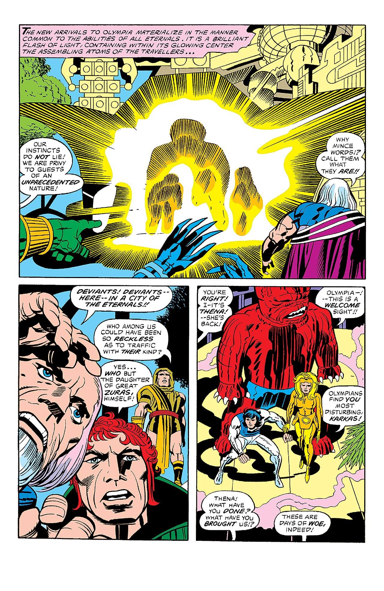 Eternals (1976-1978) #12