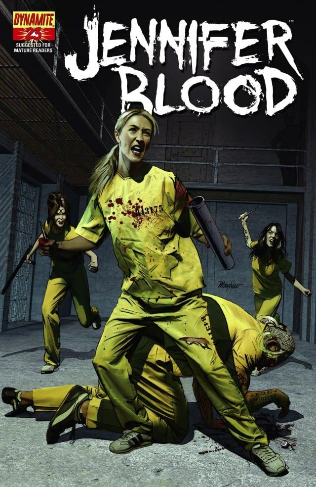 Garth Ennis' Jennifer Blood #23