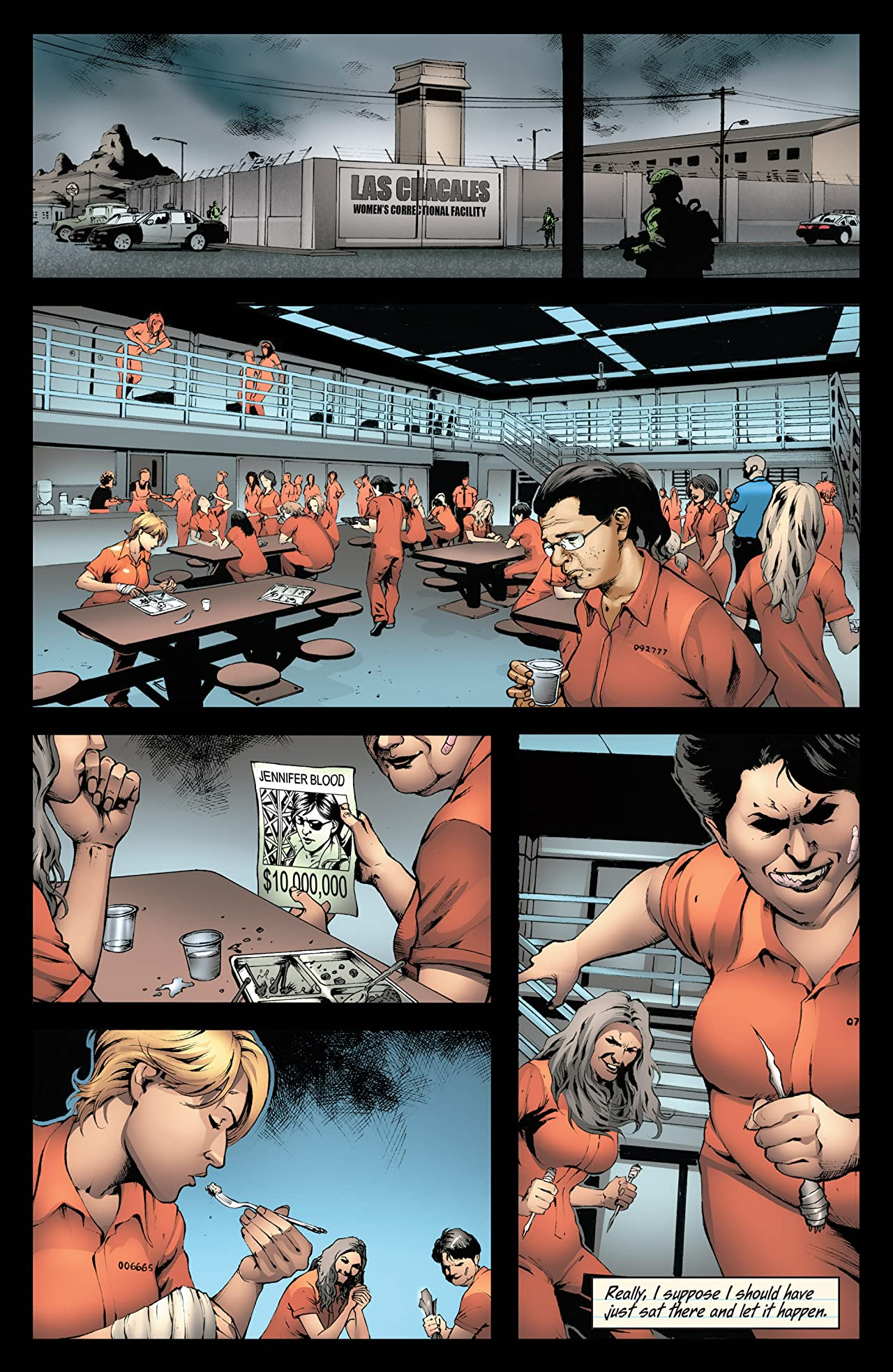 Garth Ennis' Jennifer Blood #23