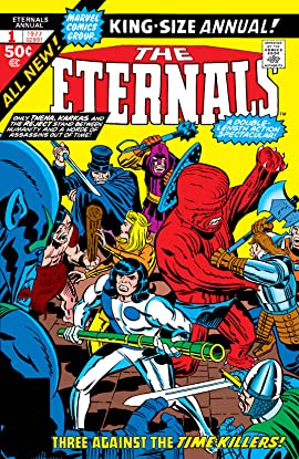 Eternals (1976-1978) Annual #1
