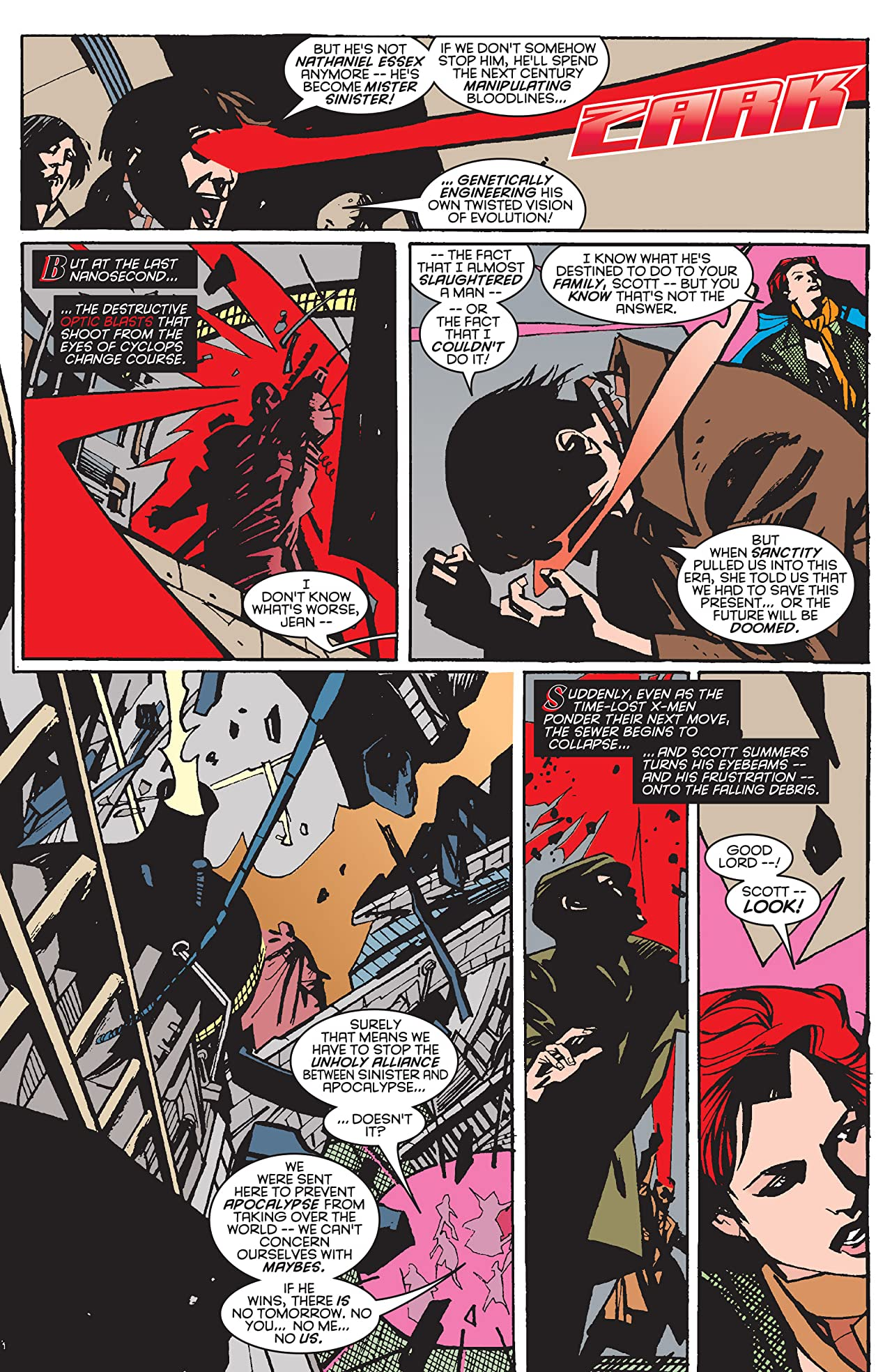 The Further Adventures of Cyclops and Phoenix (1996) No.4 (sur 4)