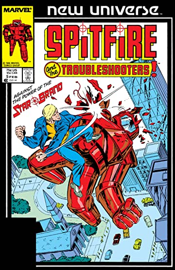 Spitfire and the Troubleshooters (1986-1987) #5