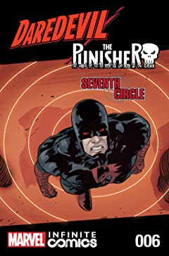 Daredevil/Punisher: Seventh Circle Infinite Comic #6