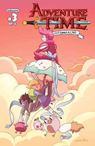Adventure Time: Fionna & Cake No.3 (sur 6)