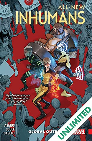 All-New Inhumans COMIC_VOLUME_ABBREVIATION 1: Global Outreach