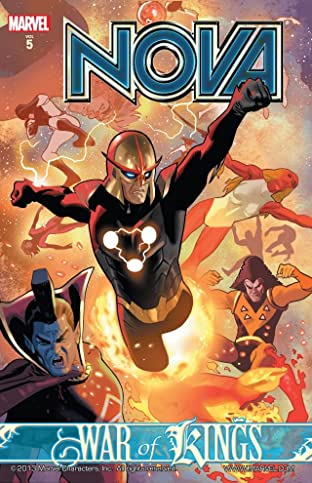 Nova Tome 5: War of Kings