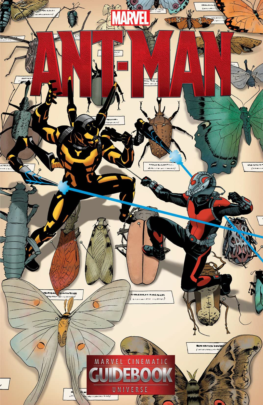 Guidebook to the Marvel Cinematic Universe - Marvel's Ant-Man #1 - Comics  by comiXology