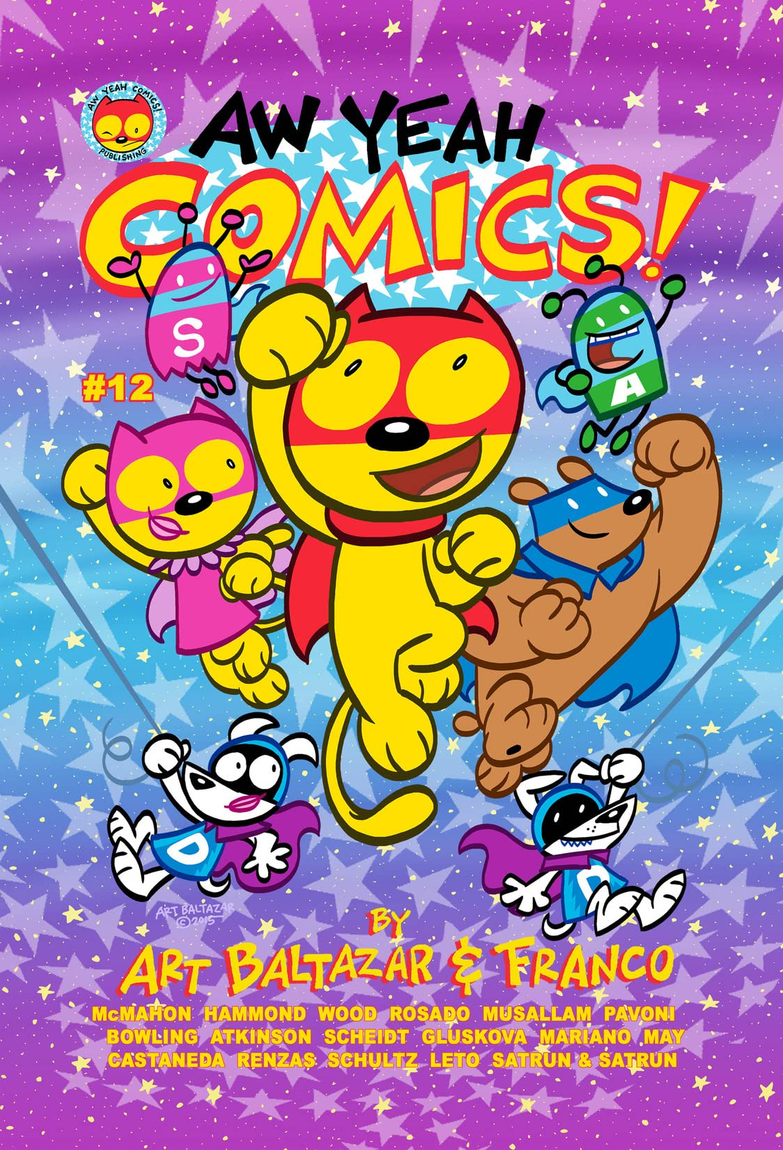 Aw Yeah Comics! #12