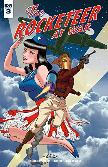 The Rocketeer At War! #3 (of 4)